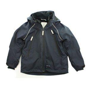 POLARN O. PYRET Navy Blue Ski Jacket Size Kids 7-8
